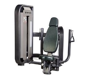 SH-6802蝴蝶式胸肌训练器